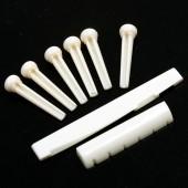 Гитарные порожки и колышки для струн