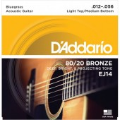 D'Addario EJ14 Bluegrass Medium Light (012-056)