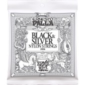 Ernie Ball 2406 Ernesto Palla Nylon Black and Silver