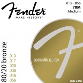 Fender 70M Bronze Custom Light (013-056)