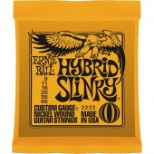 Струны Ernie Ball 2222 Nickel Hybrid Slinky Orange (009-046) для электрогитары