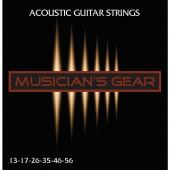 Musician's Gear Acoustic 13 Bronze (013-056)