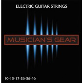 Musician's Gear Electric 10 Nickel Plated Steel (010-046)