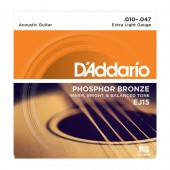 D'Addario EJ15 Phosphor Bronze Extra Light (010-047)