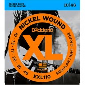D'Addario EXL110 Nickel Regular Light (010-046)