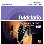 D'Addario EJ13 Bronze Custom Light (011-052)