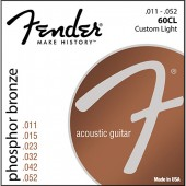 Fender 60CL Phosphor Bronze Custom Light