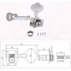 Комплект колков MHB01-CR для бас-гитары
