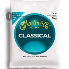 Струны Martin M160 Ball-End High Tension для классической гитары