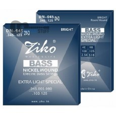 Струны для бас-гитары Ziko DN-045-5