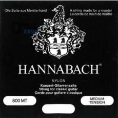Струны Hannabach E800MT для классической гитары