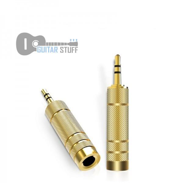 Переходник с jack 6.35mm на mini-jack 3.5mm