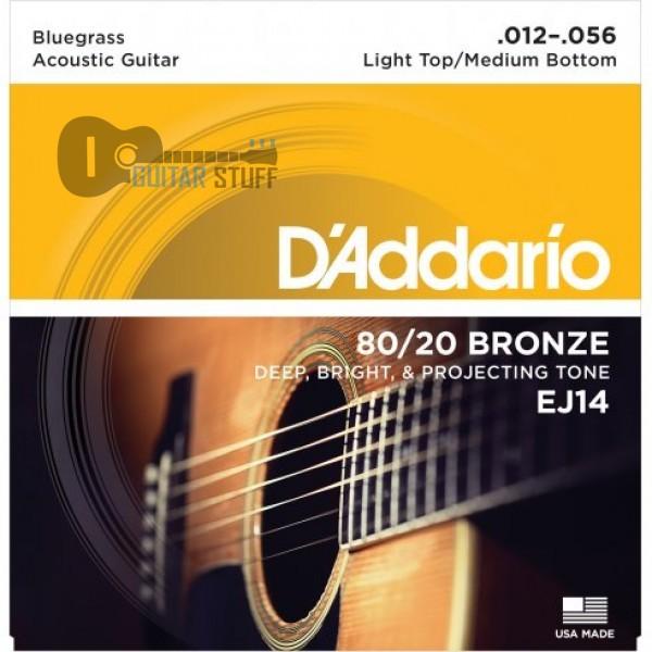 D'Addario EJ14 Bluegrass