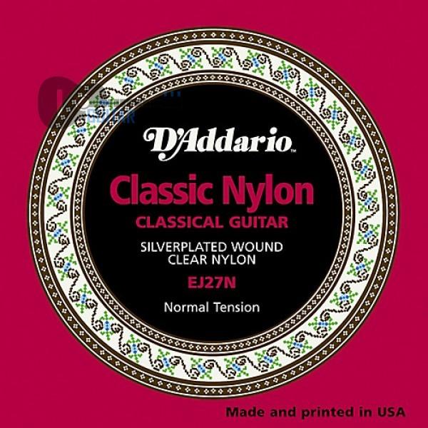 Струны D'Addario EJ27N для классической гитары
