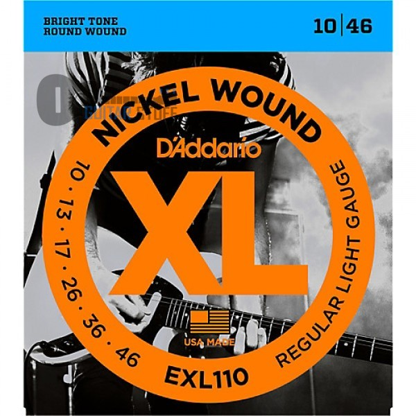 D'Addario EXL110 Nickel Regular Light