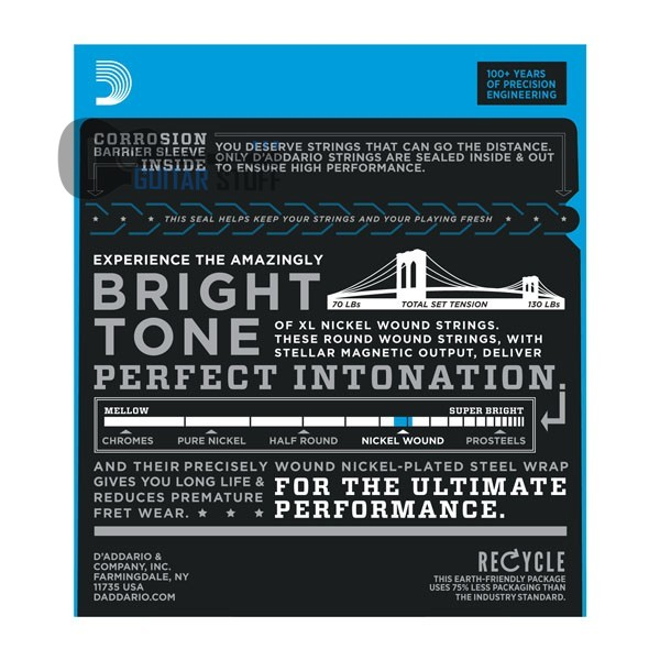 D'Addario EXL125 Nickel Super Light