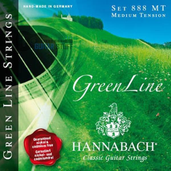 Струны Hannabach Green Line для классической гитары