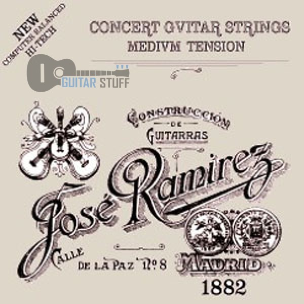 Струны Jose Ramirez Medium для классической гитары
